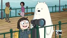 Chloe and Ice Bear 061
