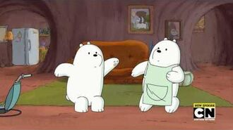 Ice Bear Is Floeing