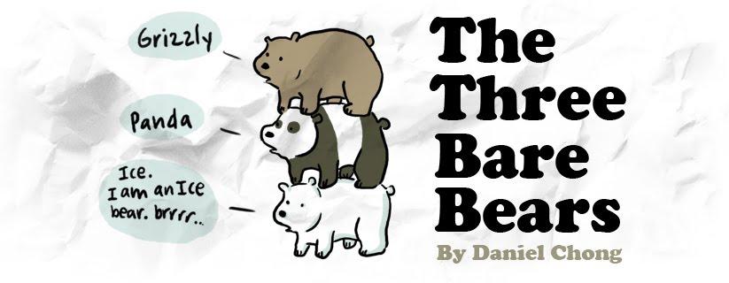 5c1738f74ac5 The Three Bare Bears