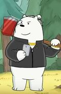Amnesiac ice bear