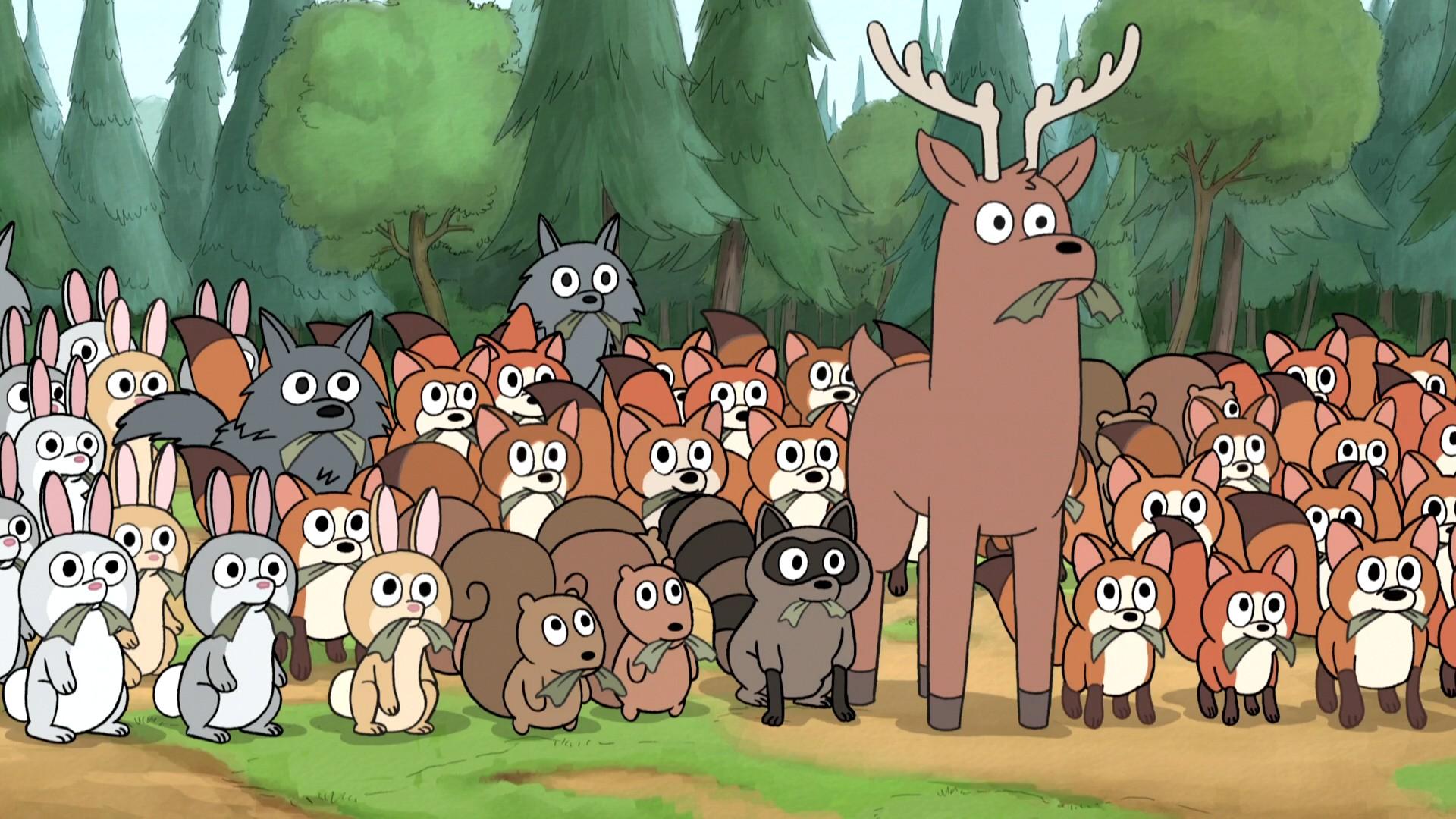 The Wildlife | We Bare Bears Wiki | Fandom