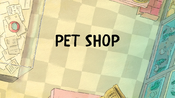 Pet Shop title