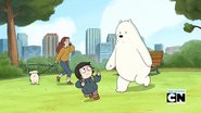 Chloe and Ice Bear 095