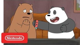 Punch Like a Bear With ARMS! We Bare Bears - Nintendo Switch