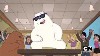 "We Bare Bears - Ice Bear as ""Ice B"" Rap Song"