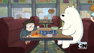 Chloe and Ice Bear 123