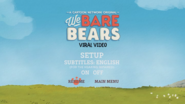 We Bare Bears Viral Video (V1) Setup Menu