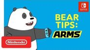 ARMS Bear Tips! We Bare Bears - Nintendo Switch