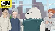 The Bear Bros Meet MONSTA X - We Bare Bears - Cartoon Network