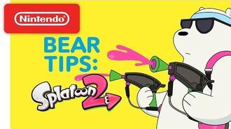 Splatoon 2 Turf War Bear Tips! We Bare Bears - Nintendo Switch