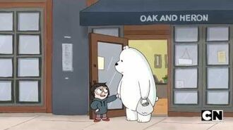 "We Bare Bears ""In your Heart"" Chloe and Ice Bear Duet"