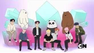We Bare Bears ft. Monsta X - MUSIC VIDEO -1080p HD-