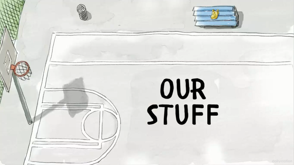 Our Stuff Title CARD