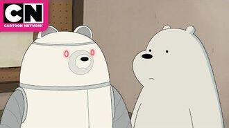 We Bare Bears Ice Bear and his Butler Robot Cartoon Network