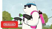 Bears Battle for Turf In Splatoon 2! We Bare Bears - Nintendo Switch