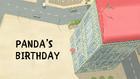 Pandas Bday Title