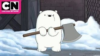 Baby Ice Bear the Rebel We Bare Bears Cartoon