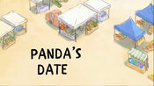 PANDA'S DATE TITLE