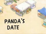 Panda's Date
