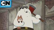 We Bare Bears Bear Squad and the Fox Family Cartoon Network
