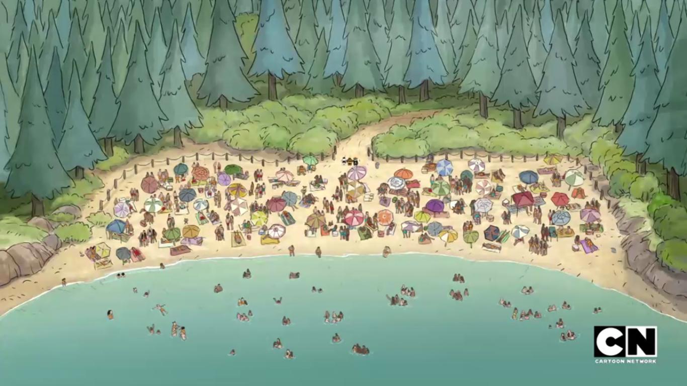 Pool bears bare