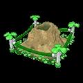 Gushing Green Geyser