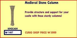 Medieval Stone Column