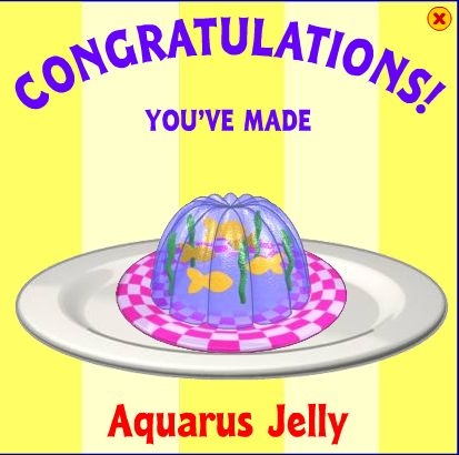 Aquarus jelly