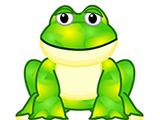 Tie Dye Frog