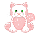 Tickled Pink Cat