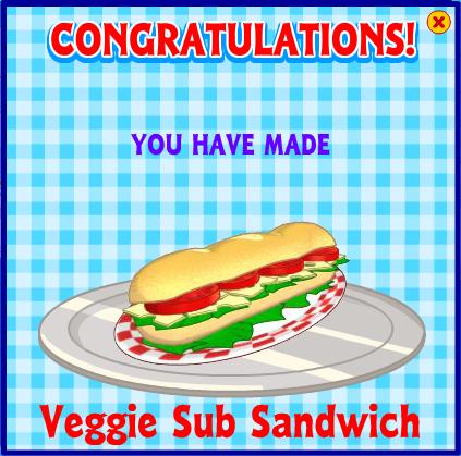 Veggie sub sandwich webkinz wiki fandom powered by wikia forumfinder Image collections