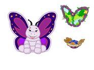 Violetwing Butterflyy