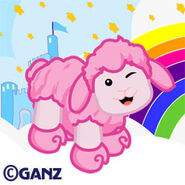 Preview cotton candy sheep