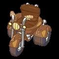 Muddy Motorcycle