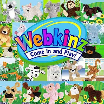 Webkinz orld and Pets Logo