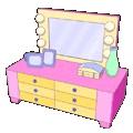 Funky Girl Dresser