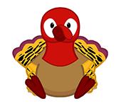 Gobbler Turkey
