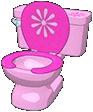 Funky Girl Toilet