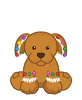 Gingerbread Puppy