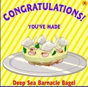 Deep sea barnacle
