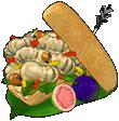 Toasted grub sub