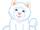 Small Signature White Persian Cat