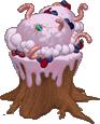 Squirm-Berry Ice Cream