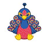 Sequin Peacock