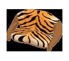 Tiger Print Sofa
