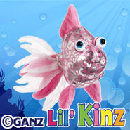 Preview pink glitter fish