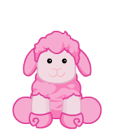 Cotton Candy Sheep
