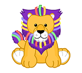 Ribbon Lion