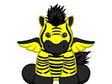 Neon Winged Zebra
