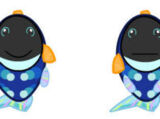 Lil'Kinz Blue Trigger Fish